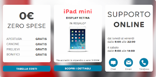 iPad Mini Retina 16GB WiFi in regalo da Hello Bank!