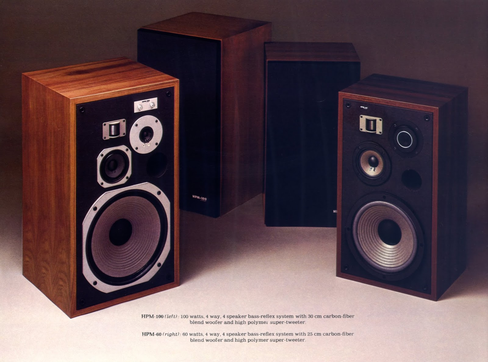 golden age of audio hpm 100 and hpm 60 speakers. Black Bedroom Furniture Sets. Home Design Ideas