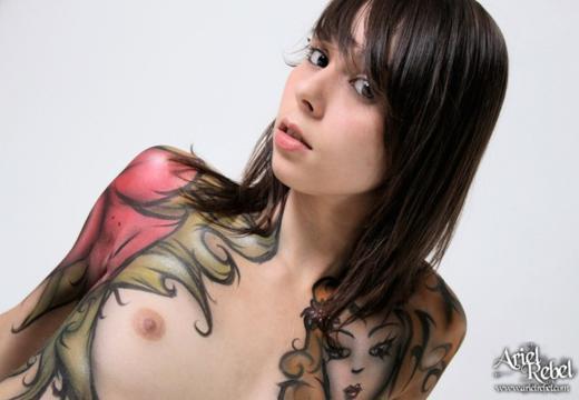 Fotos de lindas gostosas tatuadas
