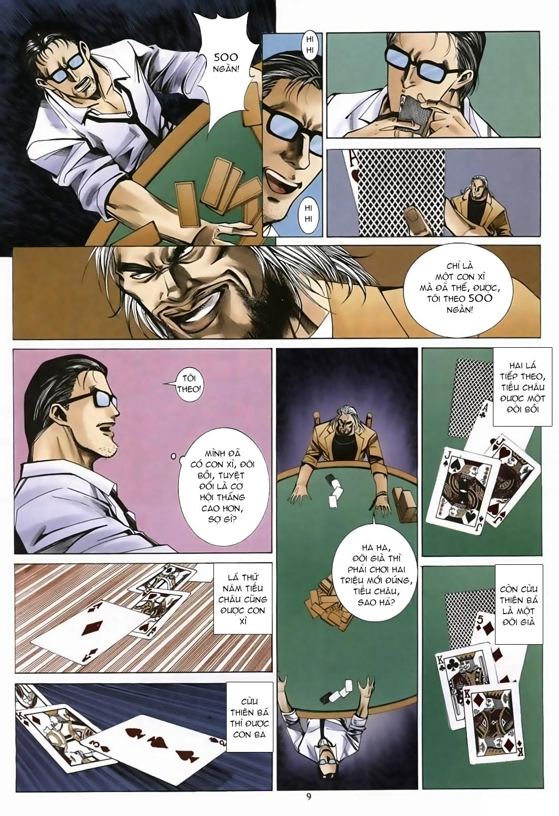 Đổ Hiệp Truyền Kỳ chap 1 - Trang 8