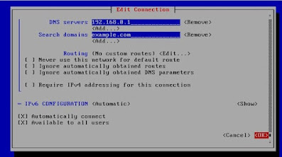 cara konfigurasi network interface di centos 8 server