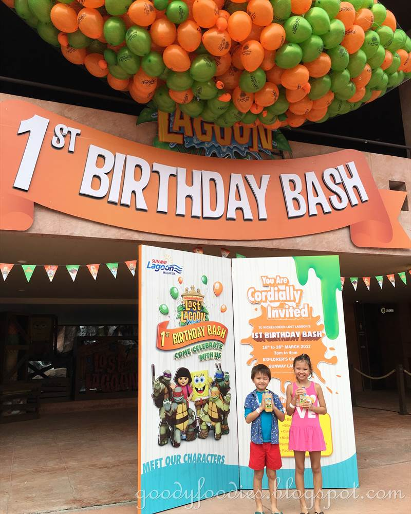 GoodyFoodies: Nickelodeon Lost Lagoon Turns 1