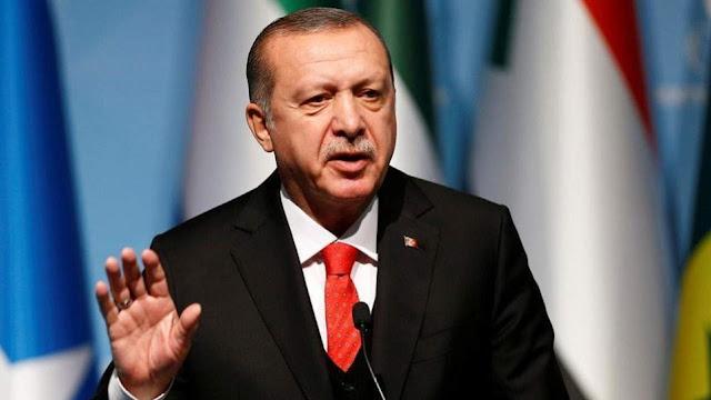 Αιχμές Ερντογάν για την Ελλάδα: Κάποιοι άρχισαν να απειλούν τη Λιβύη