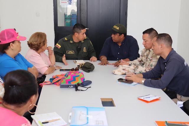 Alcalde de Riohacha pide a la Policía y al ejército garanticen la seguridad en el carnaval.