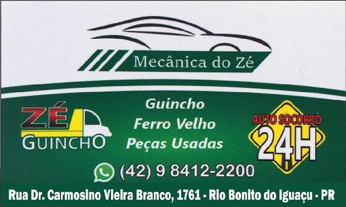 Precisa de conserto e guincho? Mecânica do Zé em Rio Bonito do Iguaçu