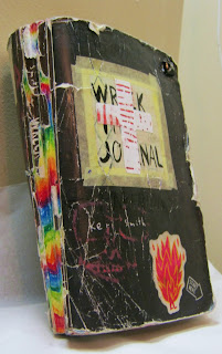 The Front Cover of my Wreck This Journal by Keri Smith