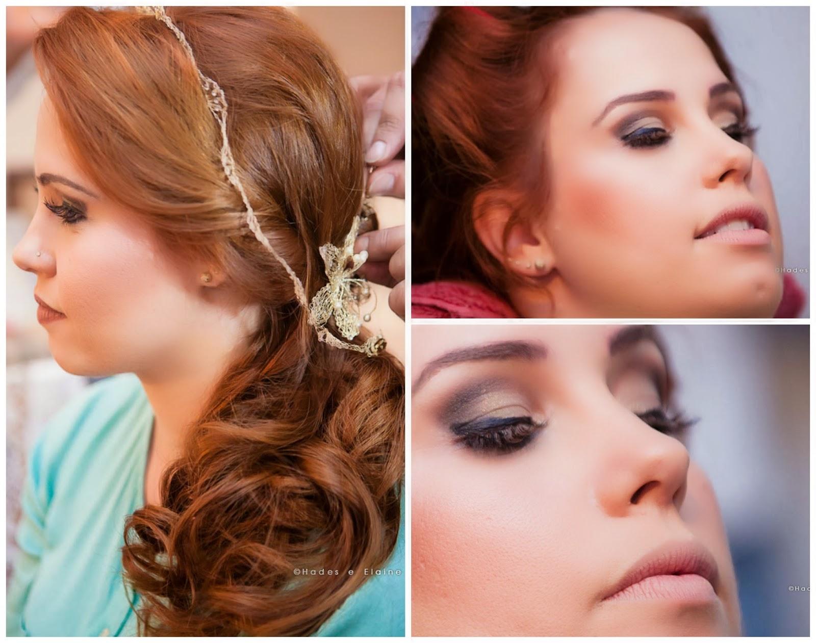 making of da noiva - dia da noiva - making of - noiva - make - cabelo - penteado - acessórios - tiara