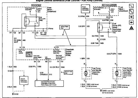 Wiring Diagram Blog: 2002 Gmc Sierra Ecm Wiring