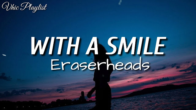 With a smile is english song