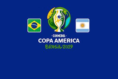 مشاهدة مباراة البرازيل والارجنتين بث مباشر اليوم