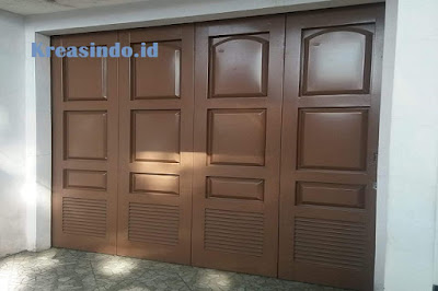 gambar foto pintu garasi besi murah