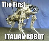 the first italian robot