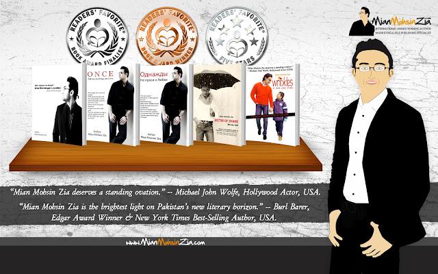 Mian Mohsin Zia - International Award Winning Author I Marketing Specialist I Self Publishing Specialist