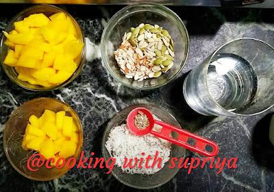 Mango Custard Halwa, Mango Custard Halwa Banane ki Vidhi