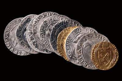 Découverte d'un dépôt monétaire exceptionnel à Dijon - Image