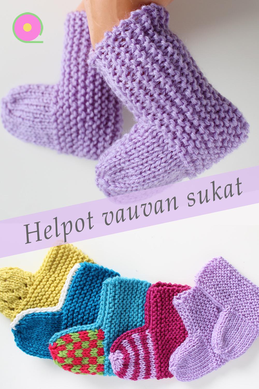 Lanka vauvan sukat nalle Neulekoulu