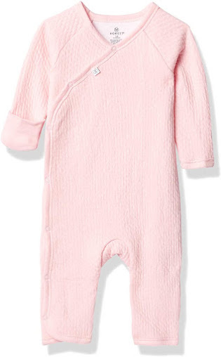 Pure Organic Cotton Preemie Baby Girl Clothes