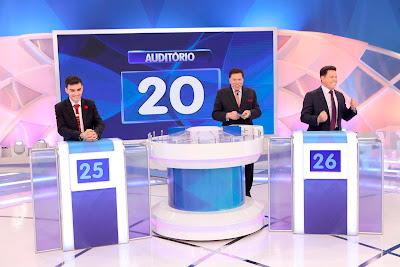 Dudu, Silvio e Marcão (Crédito: Lourival Ribeiro/SBT)