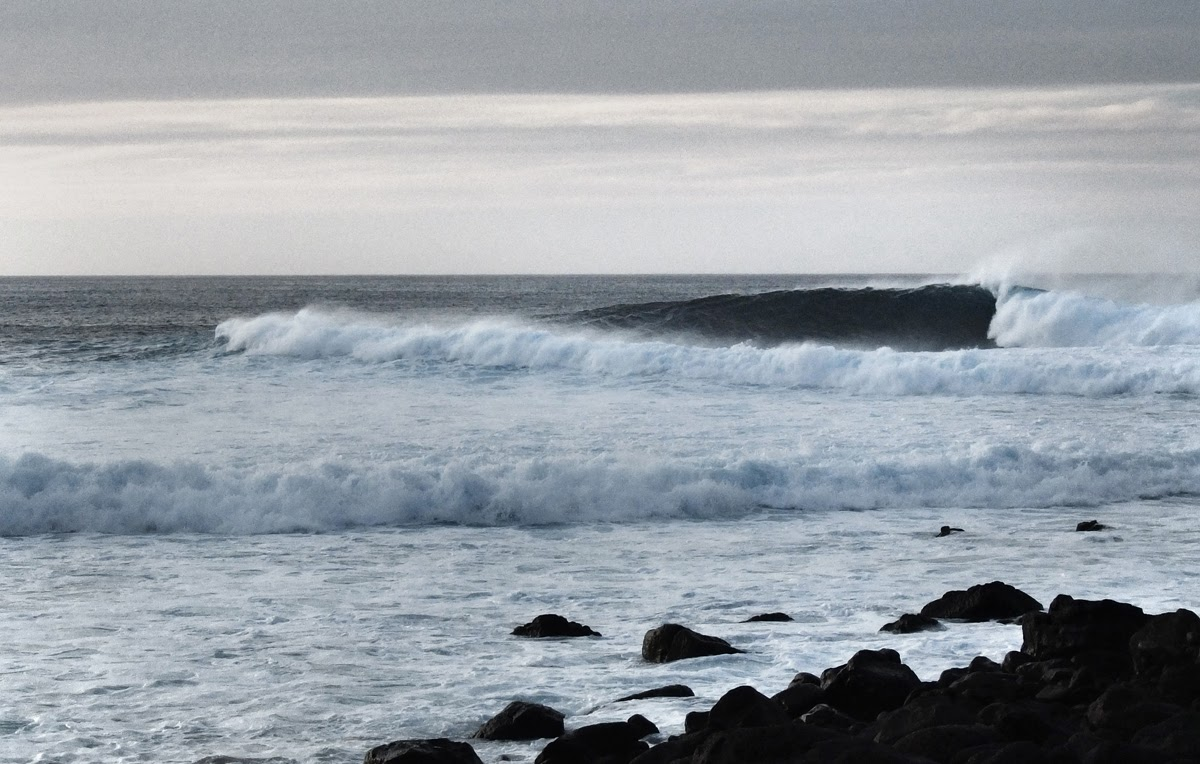 Surf, Waves, Righthander, Lanzarote, Canaries, La Santa