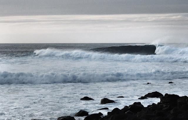 Surf, Waves, Righthander, Lanzarote, Canaries, La Santa
