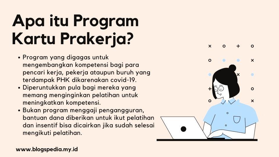 pengertian program kartu prakerja