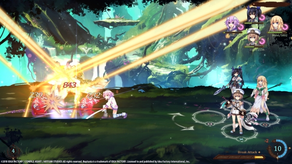 Super Neptunia RPG vem pro Ocidente para Switch PS4 final do ano