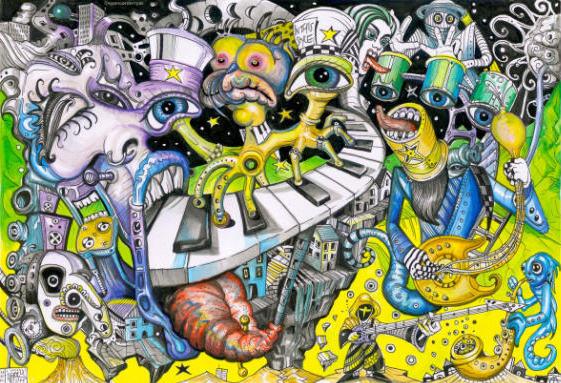 by Artist Spencer John Derry