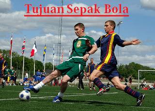 tujuan olahraga permainan sepak bola