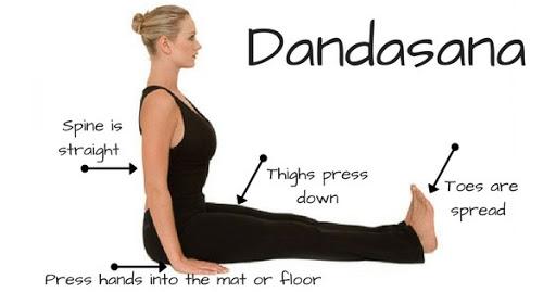 ài tập yoga tăng cường sức khoẻ Dandasana
