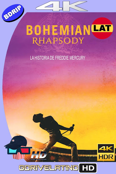 Bohemian Rhapsody (2018) BDRip 4K HDR Latino-Ingles MKV