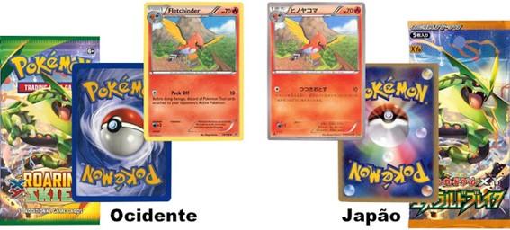 Localização das Cartas Pokémon TCG