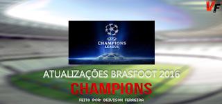 Atualização Champions League - Brasfoot 2016
