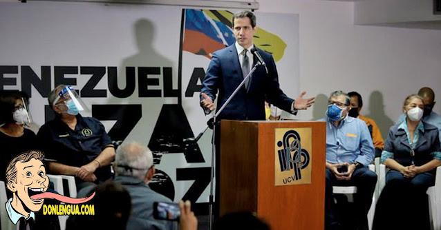 Estas son las tres absurdas preguntas de la famosa Consulta Popular de Guaidó