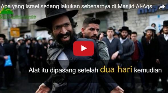 [video] Apa yang Israel sedang lakukan sebenarnya di Masjid Al-Aqsha?