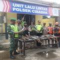Puluhan Sepeda Motor Berknalpot Bising Terjaring Razia Polsek Cibadak