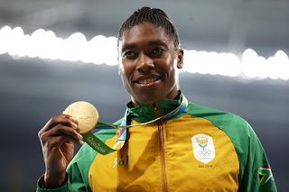 #Rio2016: South African Caster Semenya wins Gold in Women's 800m Event as IAAF Presses Case on Whether Should Compete with Other Women 1