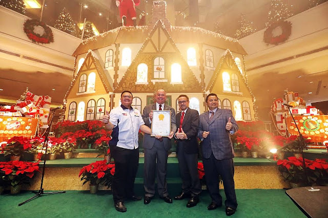 Grand Millennium Kuala Lumpur In the Malaysia Book of Records - Nation's Biggest Advent Calendar House