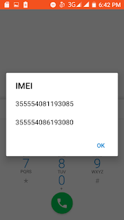 how to check imei number of samsung