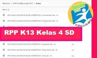 RPP Kelas 4 Kurikulum 2013 Revisi 2018 Semester 2 Tema Cita-Citaku