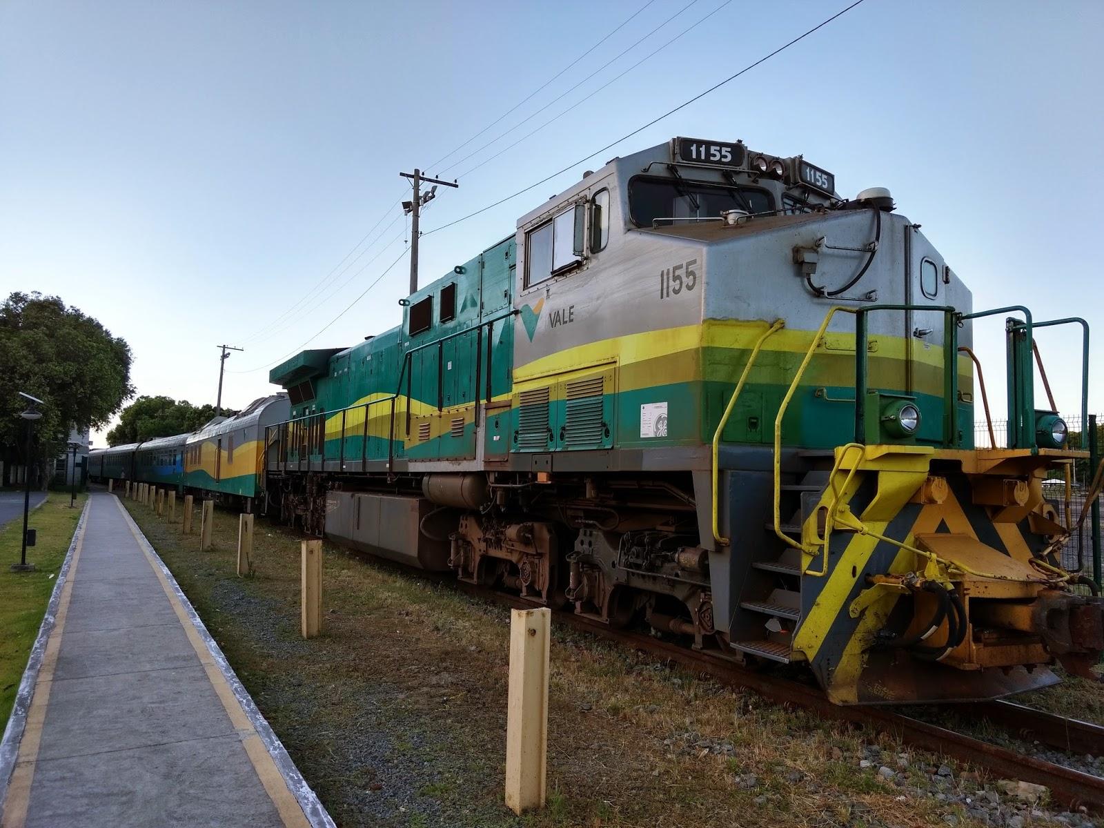 Todas as informações da viagem com o Trem da Vale