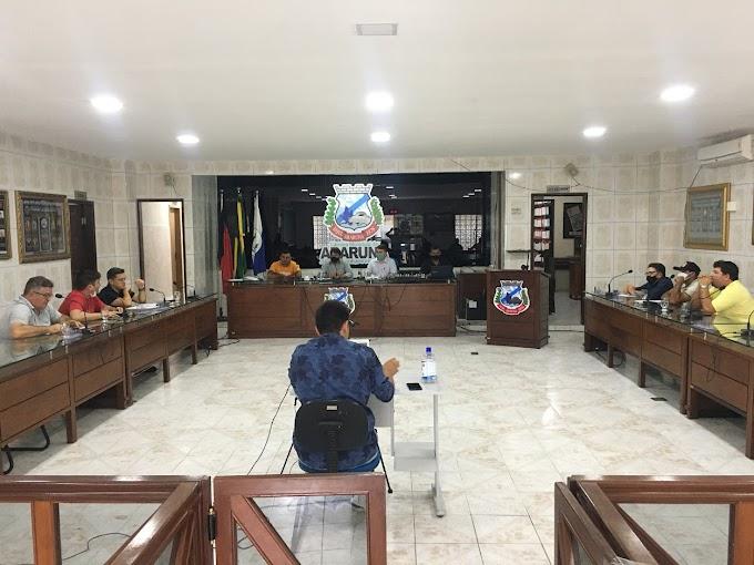 Em Araruna, Câmara mantém veto total do Executivo ao projeto da Lei Orçamentária Anual 2021