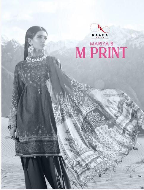 Kaara Suits Mariya B M Print  Cotton Print With Embroidery