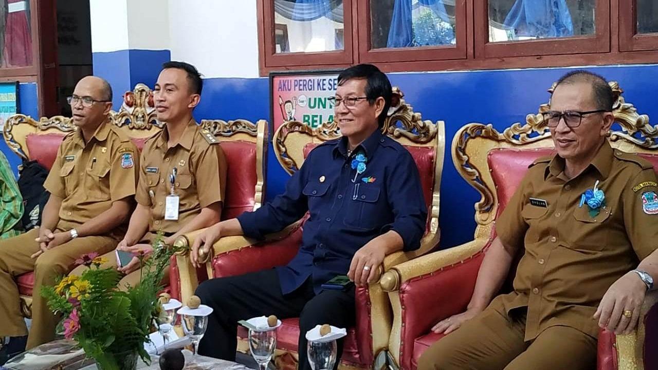 Walikota Manado: Saya Berharap Perpustakaan Sekolah Mampu Tingkatkan Minat Baca