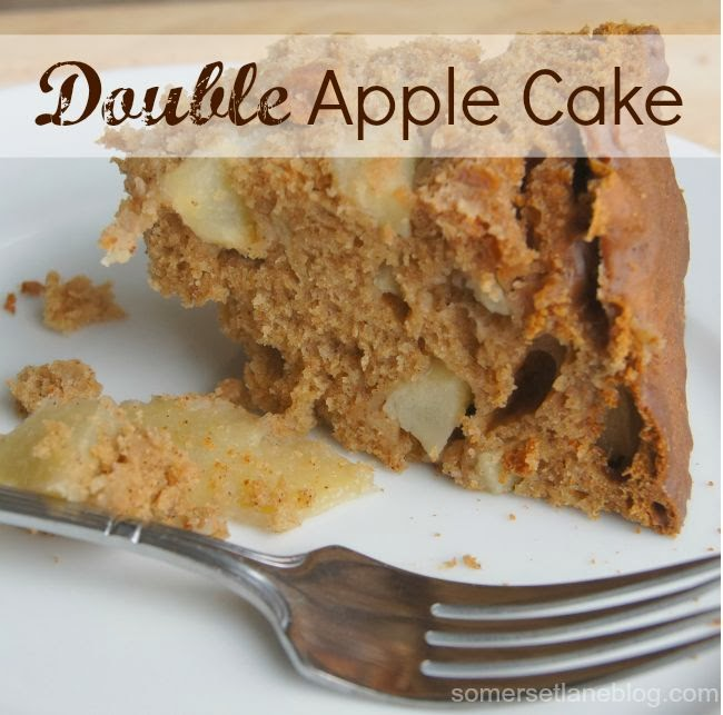 Double Apple Cake Recipe