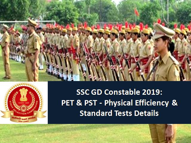 SSC GD Constable 2019 PST/PET Commenced: Physical Admit Card Announced