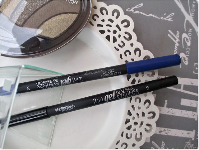 Deborah Milano - Lápices de Ojos 2 in 1 gel Eyeliner Waterproof