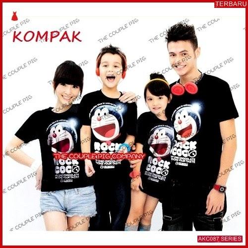 AKC087K90 Kaos Couple 2 Anak 087K90 Keluarga Anak BMGShop