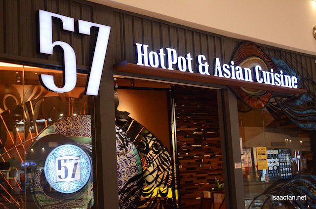 57 Hotpot & Asian Cuisine Restaurant @ IOI City Mall, Putrajaya