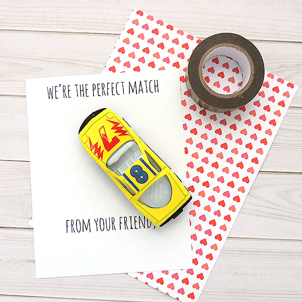 DIY Valentines with Washi Tape