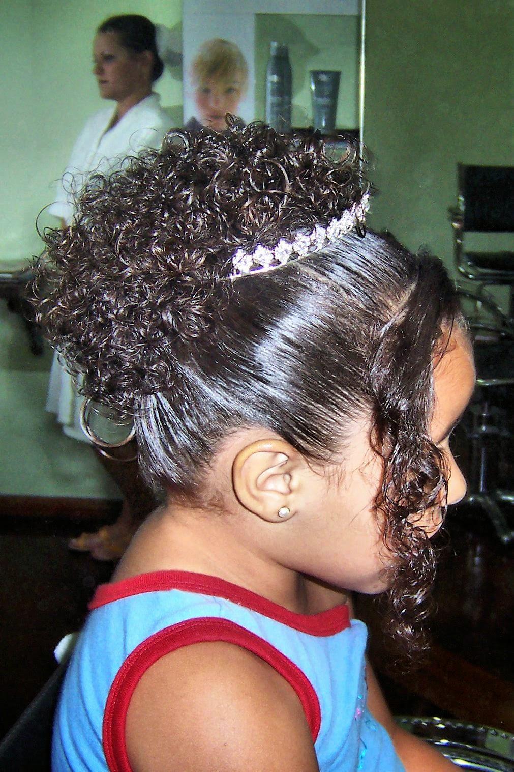 Penteados Para Cabelos Cacheados Daminhas Cabelos Cacheados